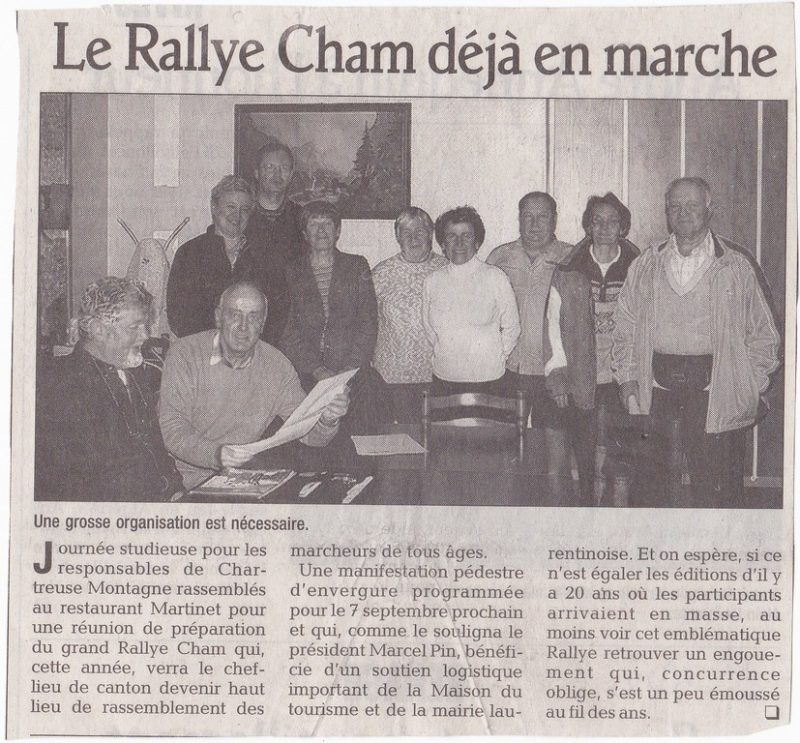 20ème Rallye